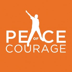 Peace of Courage logo