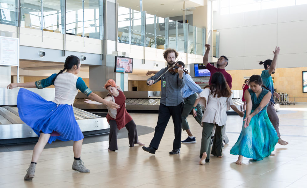 transceDANCE at San Diego Airport